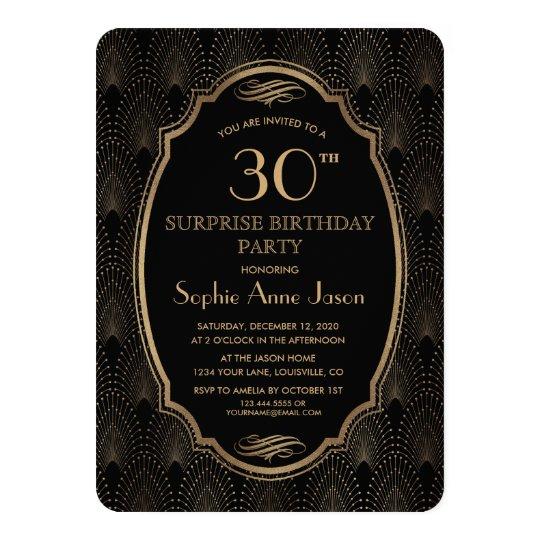 Charm Great Gatsby Vintage Art Deco Birthday Party