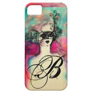 CHARM MONOGRAM BARELY THERE iPhone 5 CASE