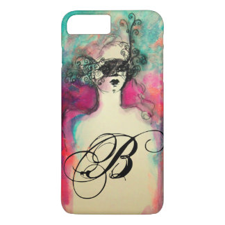 CHARM / MYSTERIOUS BEAUTY MONOGRAM iPhone 7 PLUS CASE