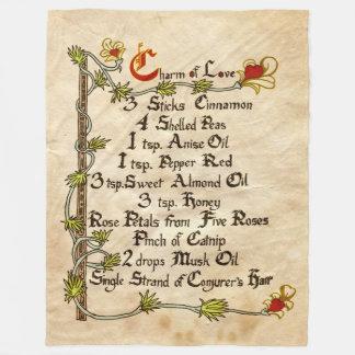 Charm Of Love Fleece Blanket