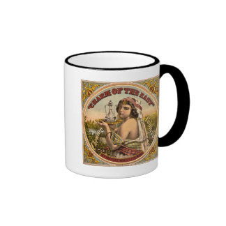 Charm of The East vintage chewing tobacco ad 1872 Ringer Mug