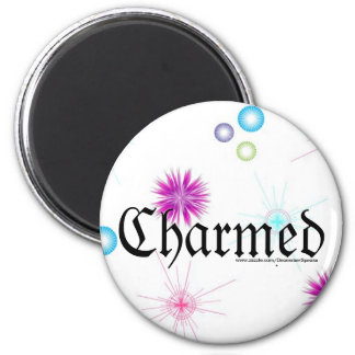Charmed 6 Cm Round Magnet