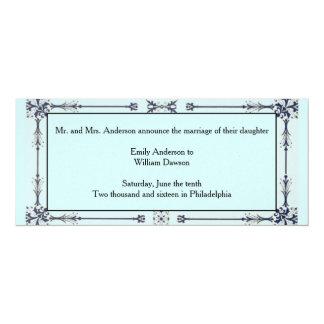 Charmed Design Wedding Invitation