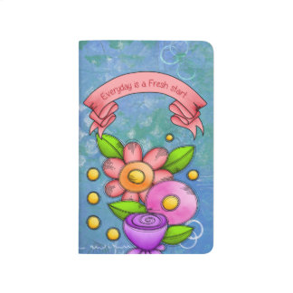 Charmed Positive Thought Doodle Flower Journal
