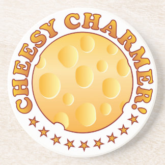Charmer Cheese Brown Coasters