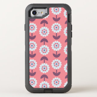 charming adorable floral OtterBox defender iPhone 8/7 case