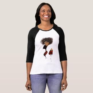 Charming and beautiful afro model T-Shirt