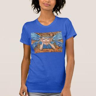 Charming Blue Faerie Tee Shirts