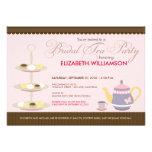 Charming Bridal Tea Party Invitation (pink)