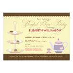Charming Bridal Tea Party Invitation (yellow)