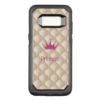 Charming Chic Pearls ,Tiara, Princess,Glittery OtterBox Commuter Samsung Galaxy S8 Case