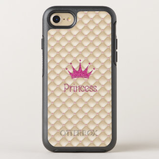 Charming Chic Pearls ,Tiara, Princess,Glittery OtterBox Symmetry iPhone 7 Case