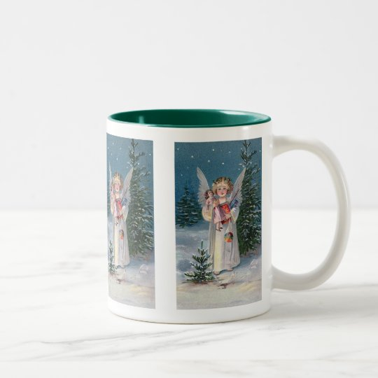Charming Christ Child Two-Tone Coffee Mug
