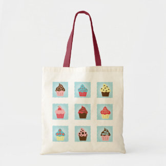Charming Cupcakes Budget Tote Bag