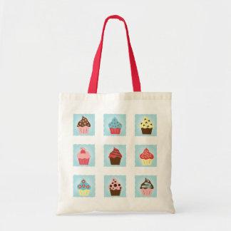 Charming Cupcakes Budget Tote Bag