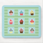 Charming Cupcakes Mouse Pad