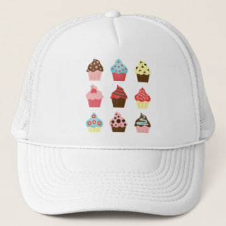 Charming Cupcakes Trucker Hat