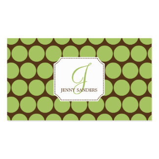 Charming Dots Business Cards - Groupon
