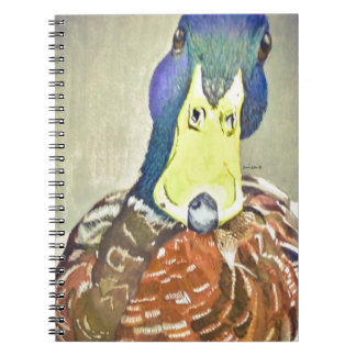 Charming Duck Notebook