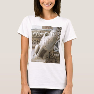 Charming Gargoyle on Medieval Buildings T-Shirt