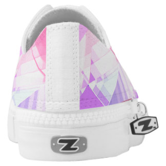 Charming gem sparkle low tops US W6+ Printed Shoes