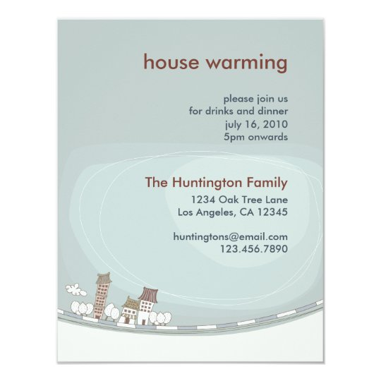 Charming House Warming Party Invitation