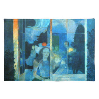 Charming impressionist placemat