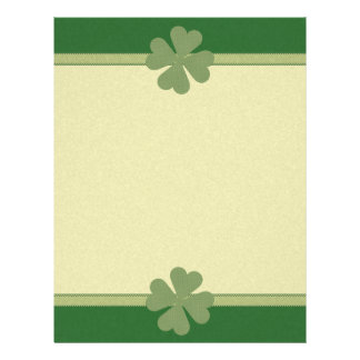 Charming Lucky Clover Flyers