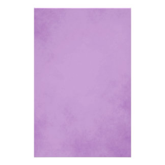 Charming Purple Parchment Stationery