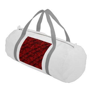 charming shiny chains red (I) Gym Duffel Bag