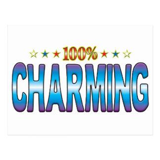 Charming Star Tag v2 Postcard