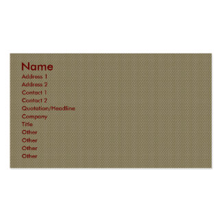 Charming tiny brown flowers with long heart on pin business card templates