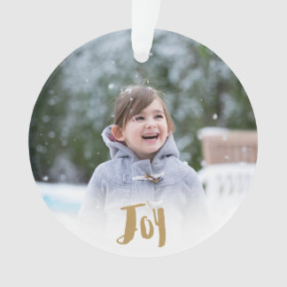 Charming Trendy Joy Holiday Photo