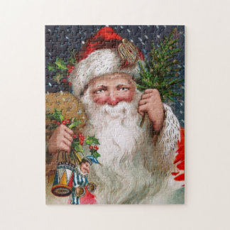 Charming Vintage Santa Claus Jigsaw Puzzle