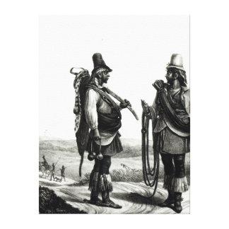 Charrua Indians Canvas Print
