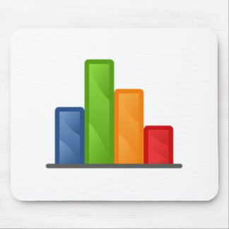 Chart and Graph Mouse Mat
