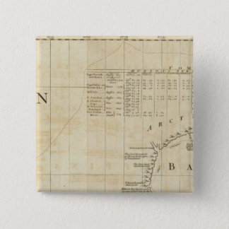 Chart containing part of the Icy Sea 15 Cm Square Badge