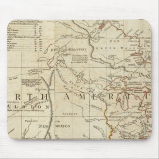 Chart containing the Coasts of California Mouse Mat