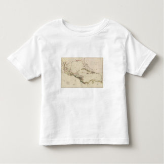 Chart of The West Indies and Spanish Dominions Toddler T-Shirt
