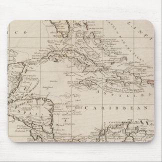 Chart of the West Indies Mouse Mat