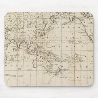 Chart of the World Mouse Pad