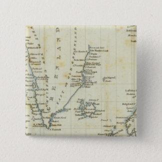 Chart, Polar Seas 15 Cm Square Badge