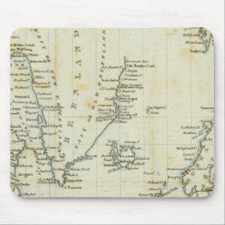 Chart, Polar Seas Mouse Pad