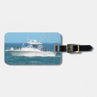 Charter Fishing Boat Luggage Tag