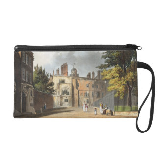 Charter House from the Square, from 'History of Ch Wristlet Clutch