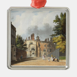 Charter House from the Square, from 'History of Ch Christmas Ornament