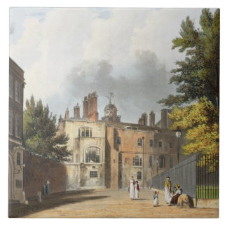 Charter House from the Square, from 'History of Ch Tile