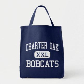 Charter Oak - Bobcats - High - Charter Oak Iowa Tote Bag