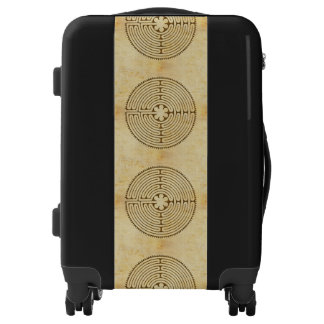 Chartres Labyrinth antique style 1 + your ideas Luggage