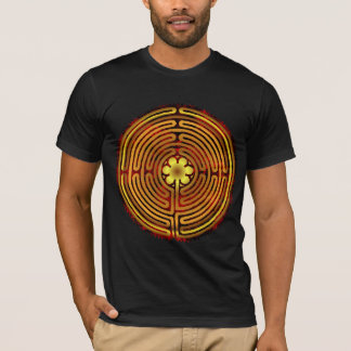 Chartres Labyrinth Fire Two Sided Shirt